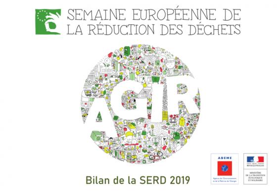 Couverture du bilan de la semaine de la réduction des déchets 2019